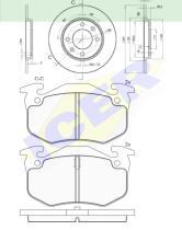 Icer Brakes 306494247 - PREMIUM KIT