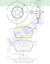 Icer Brakes 308084063 - PREMIUM KIT