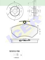 Icer Brakes 310123790 - PREMIUM KIT