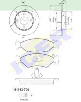Icer Brakes 311431063 - PREMIUM KIT