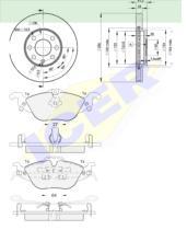 Icer Brakes 312497879 - PREMIUM KIT