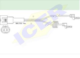 Icer Brakes 610233E - INDICAD.DESGASTE CAMION 2UD.500MM.