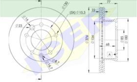 Icer Brakes 78BD01811 - DISCO