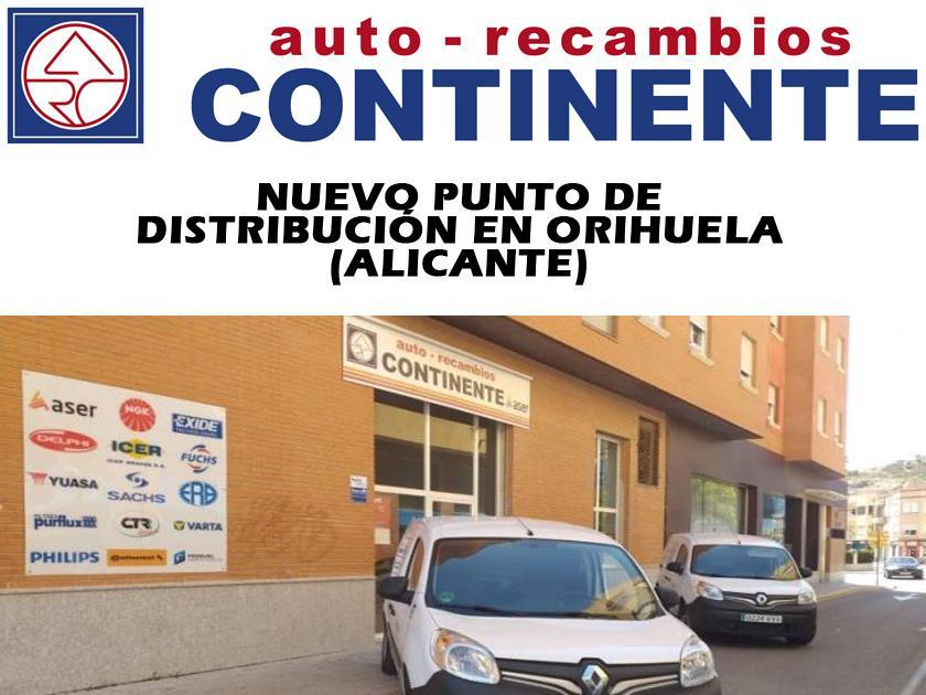 NUEVA APERTURA DE AUTO RECAMBIOS CONTINENTE,SOCIO DE ASER